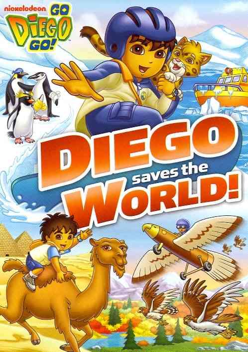 GO DIEGO GO:DIEGO SAVES THE WORLD BY GO DIEGO GO (DVD)